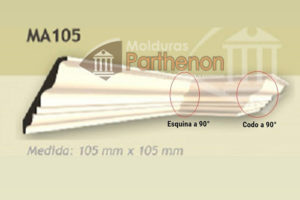 Codos y Esquinas - 105mm x 105mm
