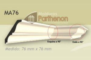 Codos y Esquinas - 76mm x 76mm