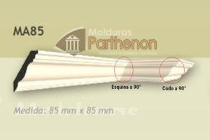 Codos y Esquinas - 85mm x 85mm